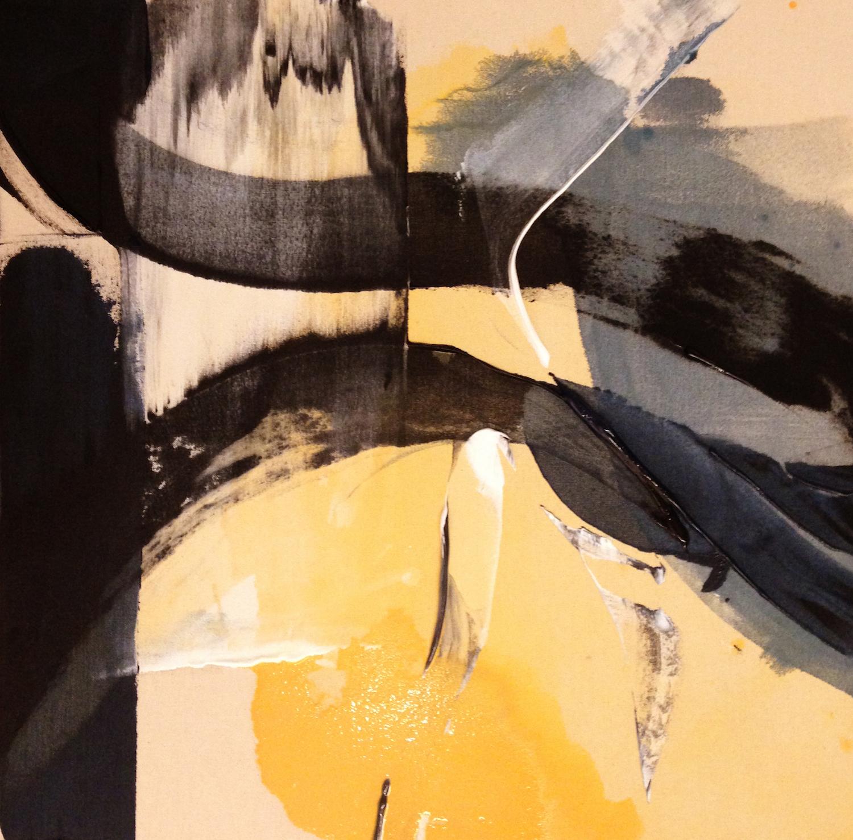 "Painting Image ""Black Stripes"""