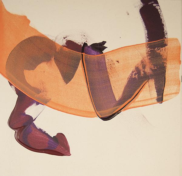 "Painting ""Orange Veil"""